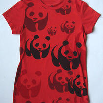 Women's Ladies World Wildlife Fund Wwf Eco T Shirt Top Size Large L Photo