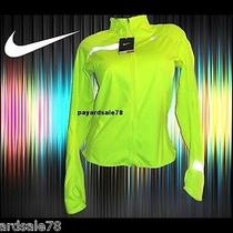 Women's Large Nike Running Jacket Wind Water Resistant Stay Warm Volt Element Photo