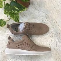 Womens Leather Dark Blush Earth Desire Flux Sneaker Size 8 Photo