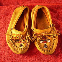 Women's Leather Moccasin or Childs Moccasin I Think These Are Minnetonka  Photo