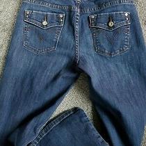 Women's Levi's 526 Slender Boot Dark Wash Stretch Jeans Size 2 S Photo