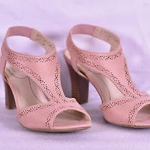 Women's Lifestride Channing T- Strap Slingback Sandals Blush Pink 8.5 M Photo