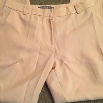 Women's Light Blush Pink Ankle Pants Size Large Photo