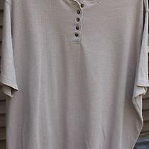 Womens Light Brown Shirt by Classic Elements Size  24/26w Photo