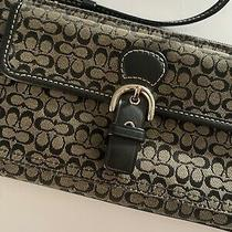 Womens Lightweight Coach Wallet With Small Strap Photo