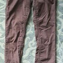 Women's London Jean Corduroy Pants Straight Leg Blush Color Size 4 Photo