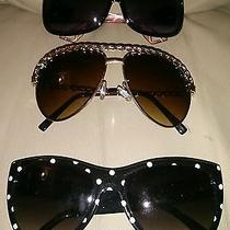 Women's Lot of 3 Sunglasses  Aldo  2 No Name but Great Shades  Photo