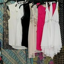 Women's Lot of 7 Sleeveless Tops Victoria's Secret White House Black Market Xs-M Photo