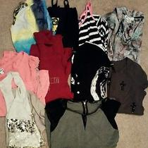 Women's Lot of Shirts Tops Daytrip Calvin Klein Inc Express American Eagle Small Photo