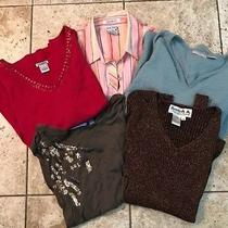 Womens Lot Size Medium Tops & Sweater by Cotton Express Simply Vera Joseph A Photo