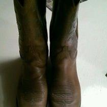 Women's Lucchese Cowboy Boots 9-Gently Worn Photo
