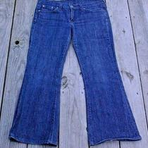 Women's Lucky Brand Jeans Short Inseam by Gene Montesano Size 10/30 Zoe Photo