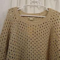 Women's Lucky Brand Metallic  Sweater 2x  Nwt Photo