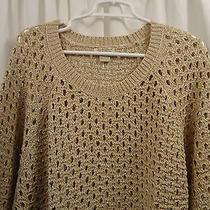 Women's Lucky Brand Metallic  Sweater 3x  Nwt Photo