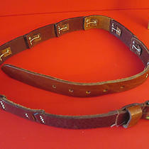 Women's M Fossil Leather Belt Size M Waist 29 to 33