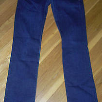 Women's Madewell Rail Straight Denim Jeans 26x34 Euc Like New Photo
