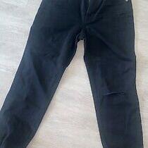 Women's Madewellthe Perfect Vintage Jean in Black - Petite/size 23 Photo