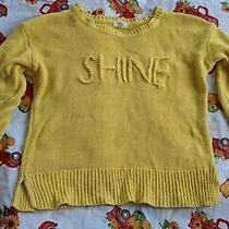 Women's Medium Cupio Yellow Sweater