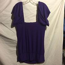 Women's Medium Purple Shirt Photo