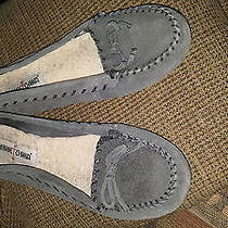 Women's Minnetonka Slippers Size 9.5 Photo