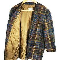 Women's Missoni Donna Blazer Brown Italy Wool Coat Jacket Size - Xl Photo