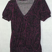 Women's/missy's v Neck Pull Over Shirt by Twenty One Size Med.  Great Condition Photo