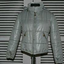 Women's Moschino Jeans Vintage Quilt Jacket Size Uk 12 Eur 38 Us 8  Photo