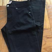 Women's Mossimo Size 5 Black Stretch Pants  Photo