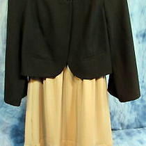 Women's Mossimo Size Med Sleeveless Dress & Size 8 Kenneth Cole Crop Jacket Nwt Photo
