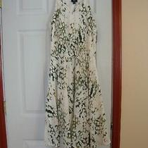Women's Mossimo Spaghetti Strap Hanky Hem  Pullover Dress Size Xs Nwt Photo