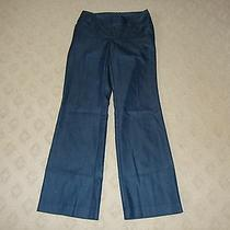Women's Mossimo Stretch Wide Leg Dress Trouser Pants Size 2 Fit 4 Photo
