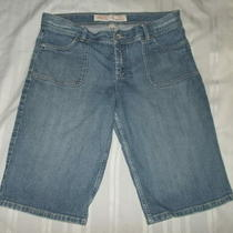 Women's Mossimo Supply Co. Denim Stretch Jean Bermuda Shorts 13 Photo