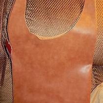 Women's Mossimo Tote Cognac Handbag  Photo