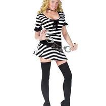 Women's Mug Shot Prisoner Fantasy Costume Photo