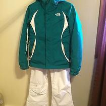 Women's Name Brand Heavy Winter Snow Outfit the North Face Spyder Columbia & Photo
