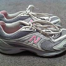 Women's New Balance 441 Abzorb Pink/silver/white Athletic Shoes (Size 6.5 b) Photo