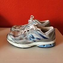 Women's New Balance S60 Euc Size 8 Nfuse Running Athletic Shoes Sky Blue Gray Photo