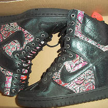 Women's Nike Dunk Sky Hi Sneaker Boot Lib Qs Sz. 5 (632180 006) Photo