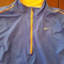 Women's Nike Element Dri-Fit Running 1/4 Zip Jacket Purple M Medium Photo