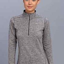 Women's Nike Element Long Sleeve Half Zip Medium Grey Photo