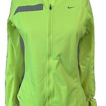 Women's Nike Element Shield Full-Zip Running Jacket Women's M Yellow Photo