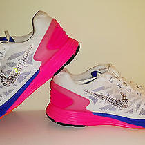 Women's Nike Lunarglide (6) Running Shoes Size 9 With Swarovski Crystals  Photo