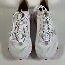 Women's Nike React Element 55 White Desert Ember Bq2728-101 Sneakers Size 6.5 Photo