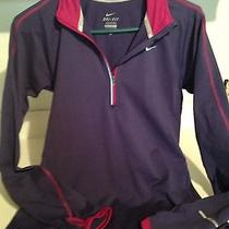 Women's Nike Running Element Dri-Fit Pullover Top Size Small Petite Photo