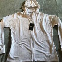 Women's Nike Therma Sphere Element Running Hoodie Lrg Nwt 856684-100 Photo