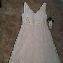 Women's Nine West Brand White Dress New With Tags Size 6 Photo