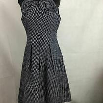 Women's Nine West Navy and White Sun Dress Size 4 Photo