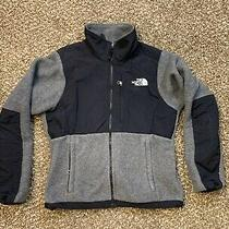 Women's North Face Fleece Black/ Gray Polartec Jacket Size Xs/tp Photo
