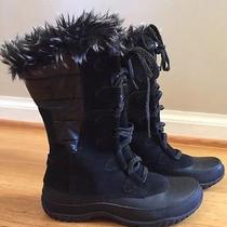 Women's North Face Size 7 Boots- Like New Photo