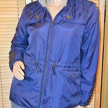 Women's Nwt 170 Brooks Brothers Navy Lined Jacket Coat Size 10 P Photo